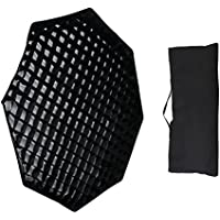 "Godox Top Octagon Softbox 37"" 95cm Bowens Mount con rejilla para Estudio Strobe Flash Luz (SB-BW 95cm)"