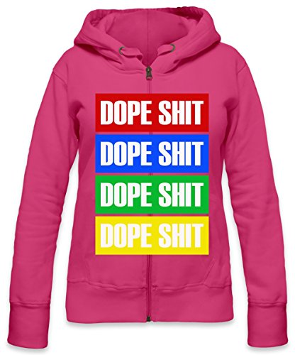 Dope Shit Swag Dope Womens Zipper Hoodie X-Large - Rosa Lil Wayne Shirt