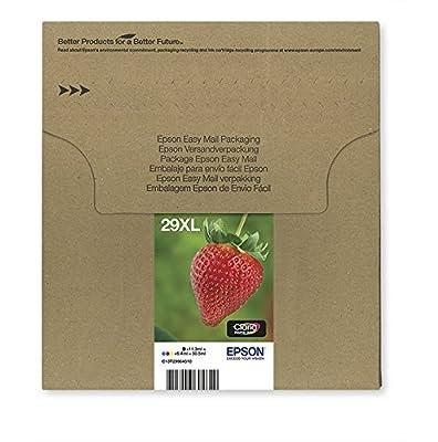 EPSON 29 Claria Home Strawberry Ink Cartridge - Black/Cyan/Magenta/Yellow (Multi-Pack)