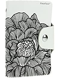 Creative Floral Print Credit Card Holder Business Credit Card Case Wallet Purse Men Women Pu Leather Practical...