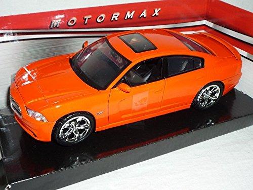 dodge-charger-sedan-a-partir-de-2006-naranja-1-24-motor-max-modelo-modelo-de-coche-auto