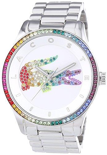 Lacoste Damen-Armbanduhr Analog Quarz Edelstahl 2000869