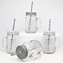 suchergebnis auf f r trinkglas mit deckel und strohhalm. Black Bedroom Furniture Sets. Home Design Ideas