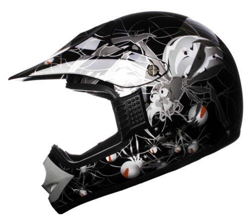 WinNet Casco da moto cross minimoto quad miniquad...