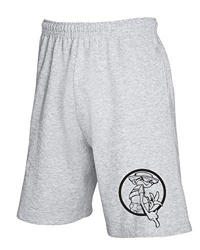 Cotton Island - Pantalone Tuta Corto FUN0222 09 12 2012 Johnny Chimpo T SHIRT det Grigio