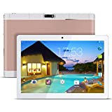 Kivors Tablette Tactile 3G 9.6 Pouces -Android 5.1 - 1G RAM+16 Go ROM - 800*1280 HD - Double Carte SIM - Double Caméra - Bluetooth - Wifi pour enfants adults (Rose)