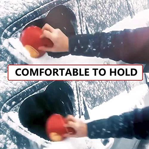 Eiskratzer Eisschaber Auto Windschild Messigschaber Auto Schneeräumung Scraper Schaufel Fensterreinigungs Windschutzscheibe Schneeschaufel schneebesen Round Cone-Shaped Ice Scraper Werkzeug (RD) - Mützen Für Leder Herren Flache