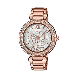 Casio Sheen Analog Silver Dial Women's Watch – SHE-3061PG-7AUDR (SX211)