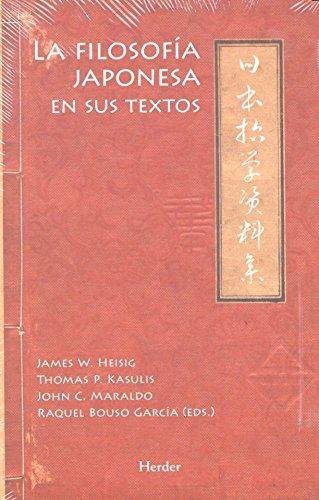 Filosofía japonesa en sus textos,La