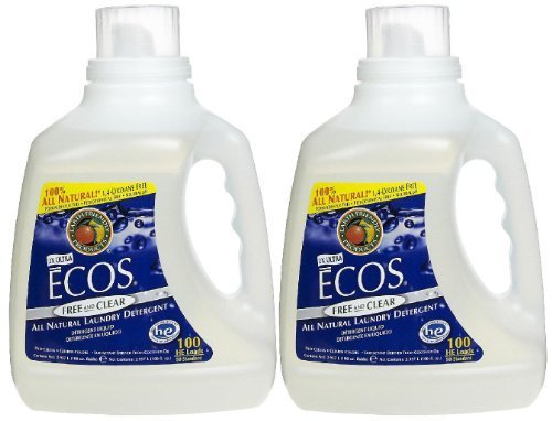 earth-friendly-products-ecos-ultra-liquid-laundry-detergent-free-clear-100-oz-100-loads-2-pack-by-ea
