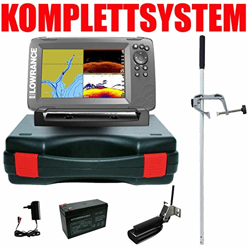 Lowrance Echolot Portabel Master Edition Hook2 7 SplitShot HDI Chirp Combo GPS Lowrance Combo Gps