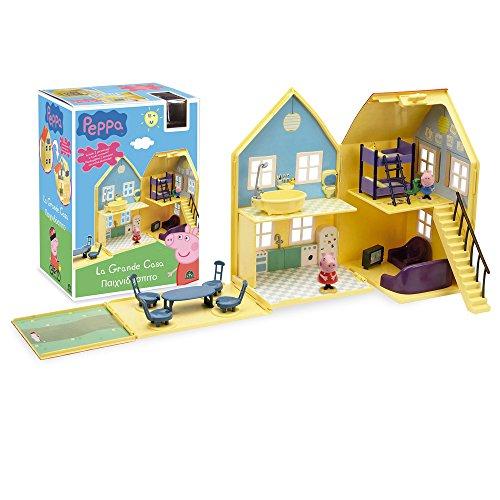 Giochi Preziosi 4963 Peppa Pig Gioco La Grande Casa Deluxe
