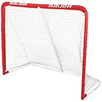 Bauer REC Steel Goal, 50 x 41-Inch, Red by Bauer