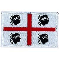 Toppa con bandiera della Sardegna ricamata