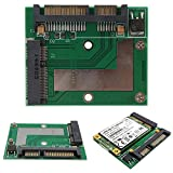 ELEGIANT Mini PCI-E SSD MSATA 50mm 47 Pin a 2.5 Inch SATA Scheda Adattatore immagine