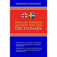 English-Swedish and Swedish-English Dictionary (Illustrated) (Swedish Edition)