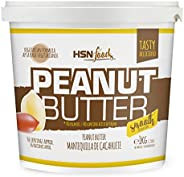 Peanut Butter from HSN   Crunchy Texture - 100% Natural   Suitable For Vegetarians, No palm oil, No trans fat,