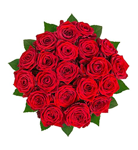 Flowrframe Blumenstrauß Naomi Perfect mit Red Naomi-Rosen ohne Vase Red Naomi -