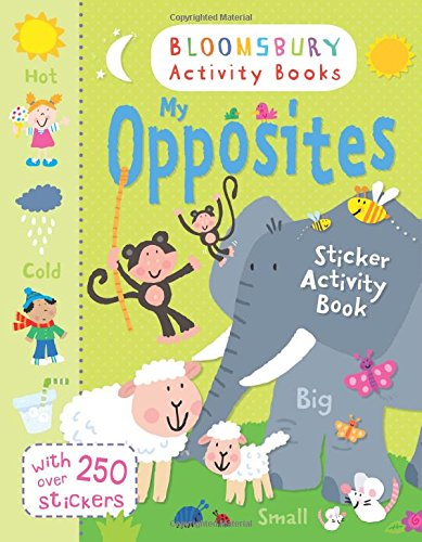 My Opposites Sticker Activity Book (Chameleons)