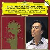 Brahms: Alto Rhapsody; Song of Destiny; Nänie; Song of the Fates