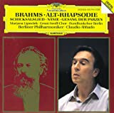 Brahms: Alto Rhapsody; Song of Destiny; Nänie; Song of the Fates