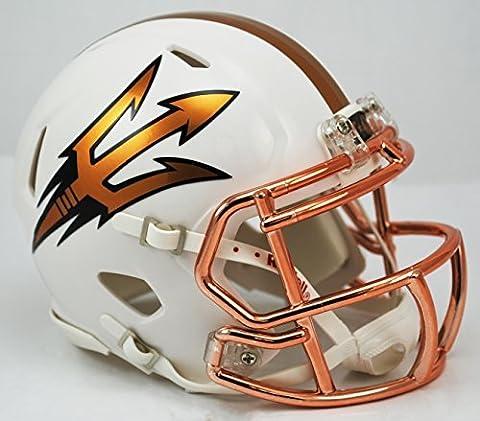 NCAA Arizona State Sun Devils DESERT FUEL Speed Mini Helmet by Riddell
