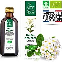 ❀ Reine-des-prés bio française ❀ Solution buvable de plantes fraîches - Rétention d'eau - Origine France certifiée ✓ Certifié AB ✓