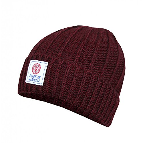 Franklin-Marshall-cpua9024w-Beanie-Hat-Red