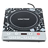 United UD-18B1 Induction Cooktop (Black, Push Button)