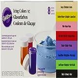 """Wilton """"EU"""" 8 Icing Colors Set"""