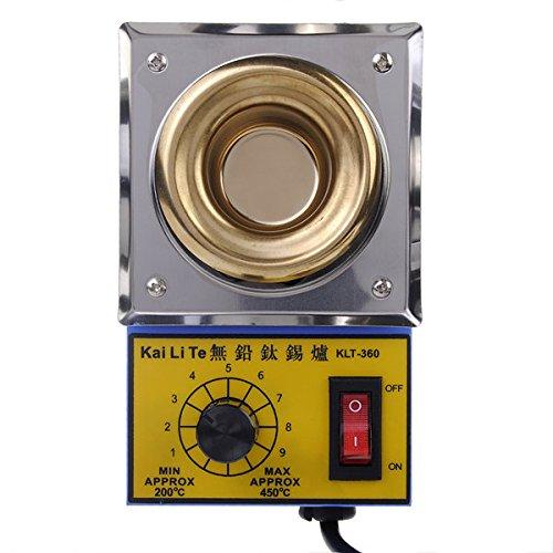 Calli KLT-360 38mm 220V 100W Solder Pot Titanlegierung Schmelzen Löten Pot