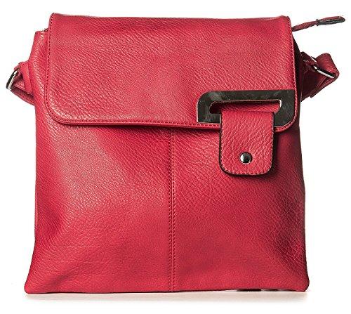 Other , Damen Umhängetasche Mehrfarbig mehrfarbig M rot