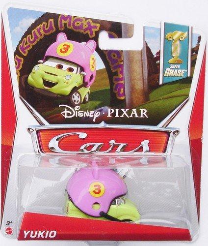 Disney Pixar CARS 2 Movie 1:55 Die Cast Car *Ultimate Super Chase* Yukio - Edition Limitée: 4000 - Voiture Miniature Echelle 1:55