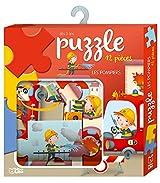 Ma boite à jeux: Puzzle les pompiers - Dès 3 ans
