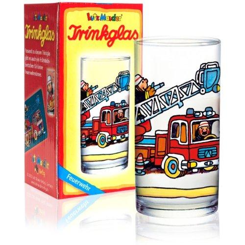 Lutz Mauder 19520Trinkglas mit Feuerwehrwagen-Aufdruck