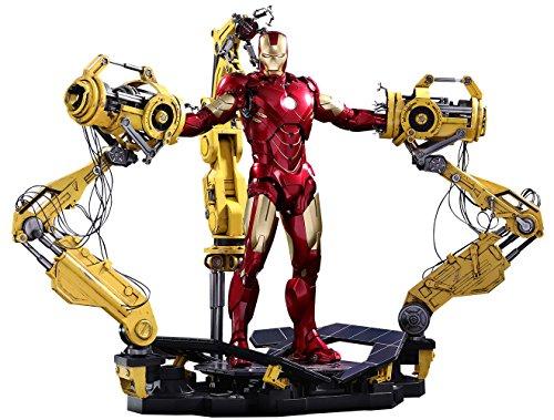 Preisvergleich Produktbild Hot Toys Iron Man 2: Iron Man Mark IV - Suit-Up Gantry / 1 / 6 DieCast / MMS462D22