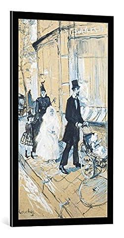 Bild mit Bilder-Rahmen: Henri de Toulouse-Lautrec