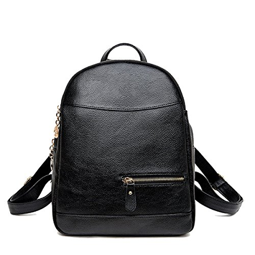 Mode Rucksack Black Tasche Student Schultertasche Neue Frauen UBqwAzz