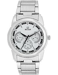 8ab5432bb07f Ricon Analog White Dial Men s Watch-001717A