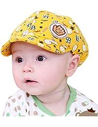 Logobeing Sombrero Infantil Bebe Sol Gorras de BéIsbol Beret Cap Gorro de Aire  Libre Playa Para ed83baf5263