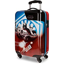 Star Wars The Last Jedi Equipaje infantil, 55 cm, 35 Litros, Multicolor