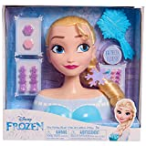 JP Disney Styling 12902 Tête à coiffer Elsa La Reine des neiges sans Couleur