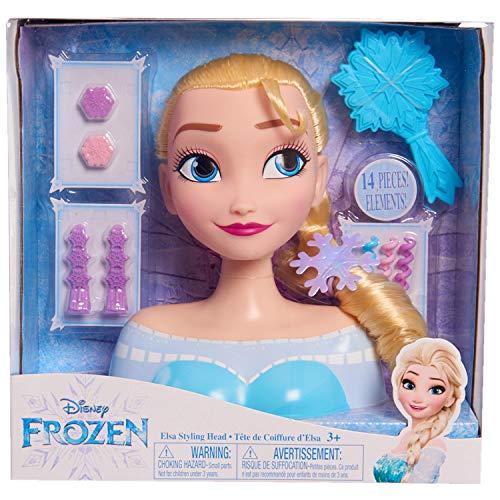 JP Disney Styling 12902 Frozen Elsa Cabeza Estilo