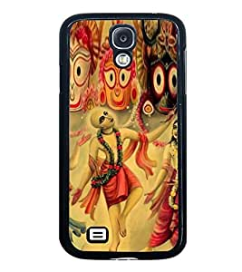 ifasho Designer Back Case Cover for Samsung Galaxy S4 Mini I9195I :: Samsung I9190 Galaxy S4 Mini :: Samsung I9190 Galaxy S Iv Mini :: Samsung I9190 Galaxy S4 Mini Duos :: Samsung Galaxy S4 Mini Plus (Lord Jagannath Chaitanya Mahaprabhu Vishnu Tales China Vishnu Manohar Books)