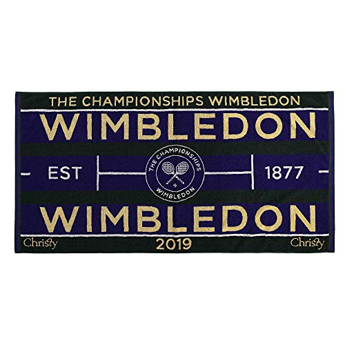 Wimbledon Men's Tennis Towel 2019 von Christy