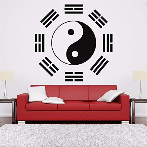 etiqueta de la pared decoración Logotipo de Aikido de la muestra de...