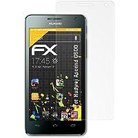 Protezione schermo 3 x atFoliX Huawei Ascend G600-FX-Antireflex
