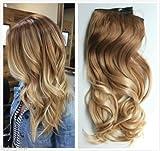 D&L Haarverlängerung, 55,9 cm (22 Zoll); lang, , Light brown to sandy blonde,...