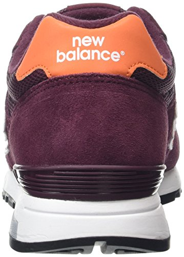 New Balance - New Balance Herren Sportschuhe Weinrot Mehrfarbig (Burgandy/OrangeBurgundy/Orange)