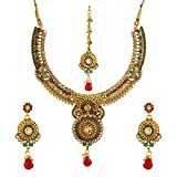 YouBella Jewellery Gold Plated Necklace ...